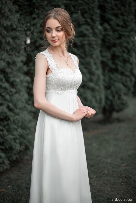 Свадебное платье напрокат Артемида Свадебное платье Kristina - фото 2