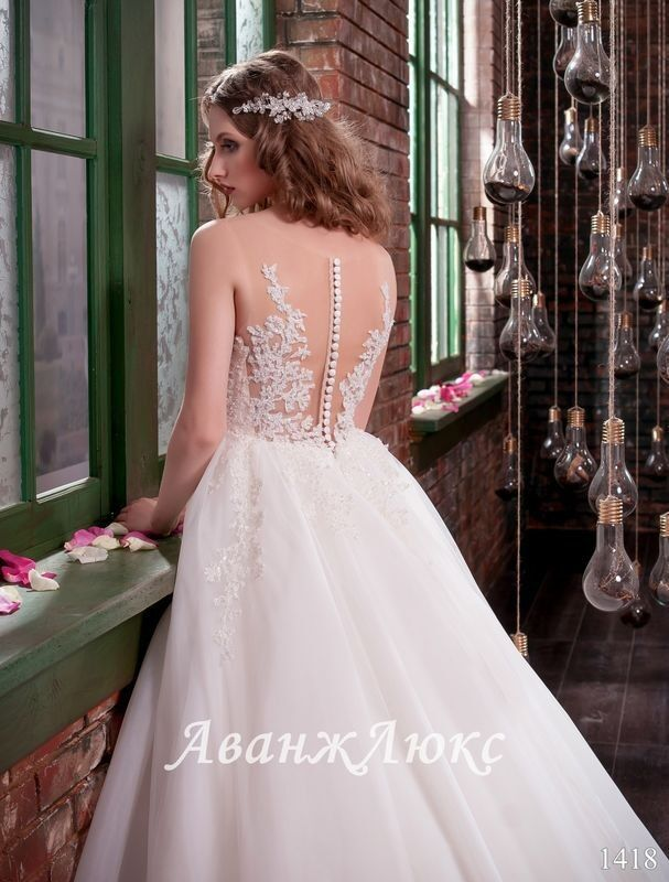 Свадебный салон Vanilla room Свадебное платье 1418 - фото 3