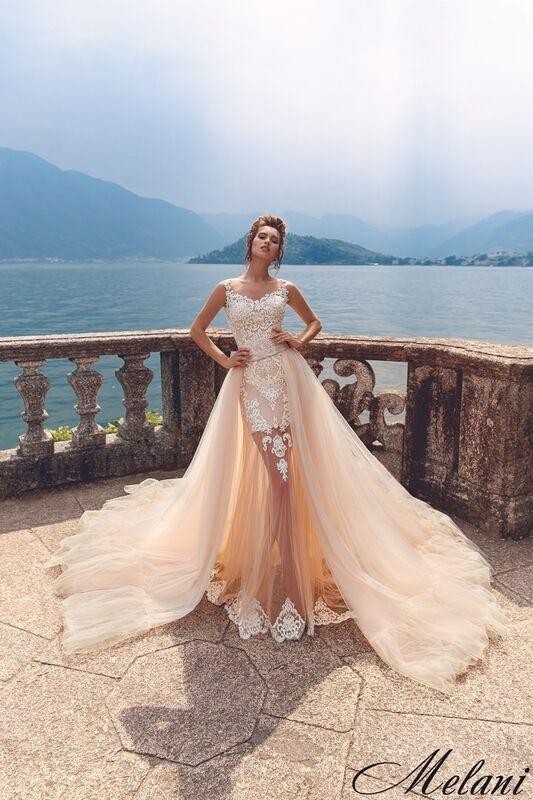 Свадебный салон Bonjour Galerie Свадебное платье Melani из коллекции Royal Luxury - фото 5