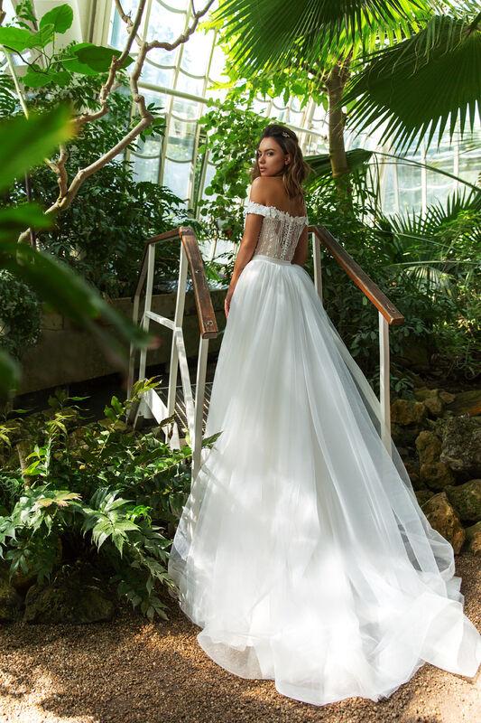 Свадебное платье напрокат Crystal Claudia - фото 3