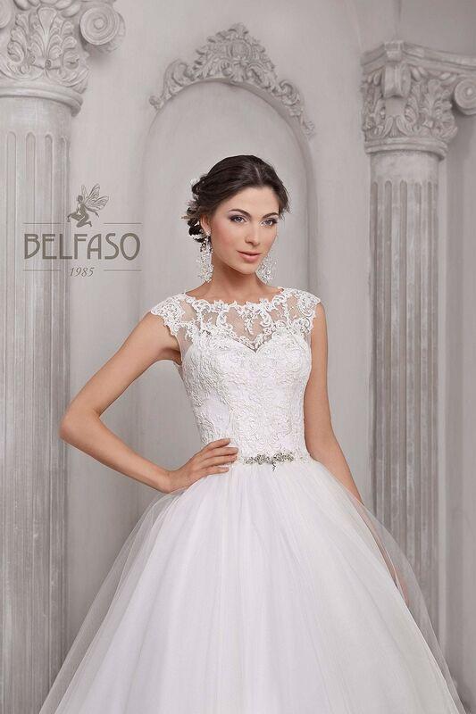 Свадебное платье напрокат Belfaso Платье свадебное Nikoletta - фото 3