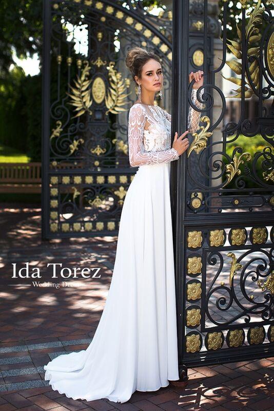 Свадебное платье напрокат Ida Torez Свадебное платье Candice - фото 1