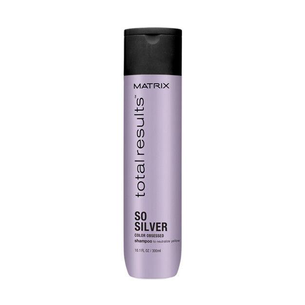 Уход за волосами Matrix Шампунь для светлых и окрашенных волос «So Silver» Total Results, 300 мл - фото 1