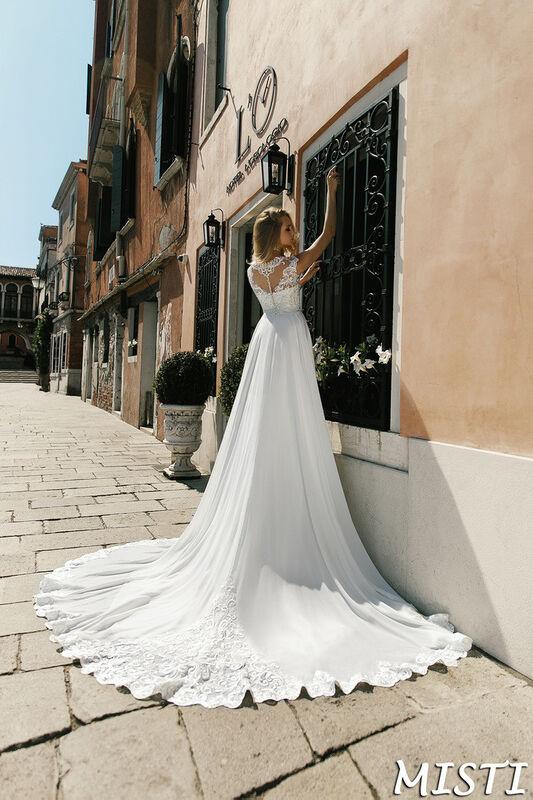 Свадебный салон Bonjour Galerie Свадебное платье Misti из коллекции La Douceur - фото 2