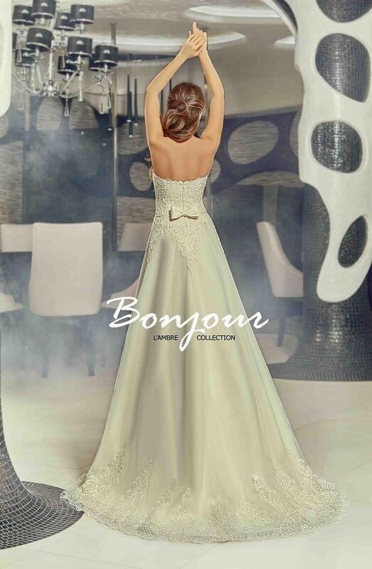 Свадебный салон Bonjour Galerie Свадебное платье «Carmen» из коллекции LAMBRE - фото 3