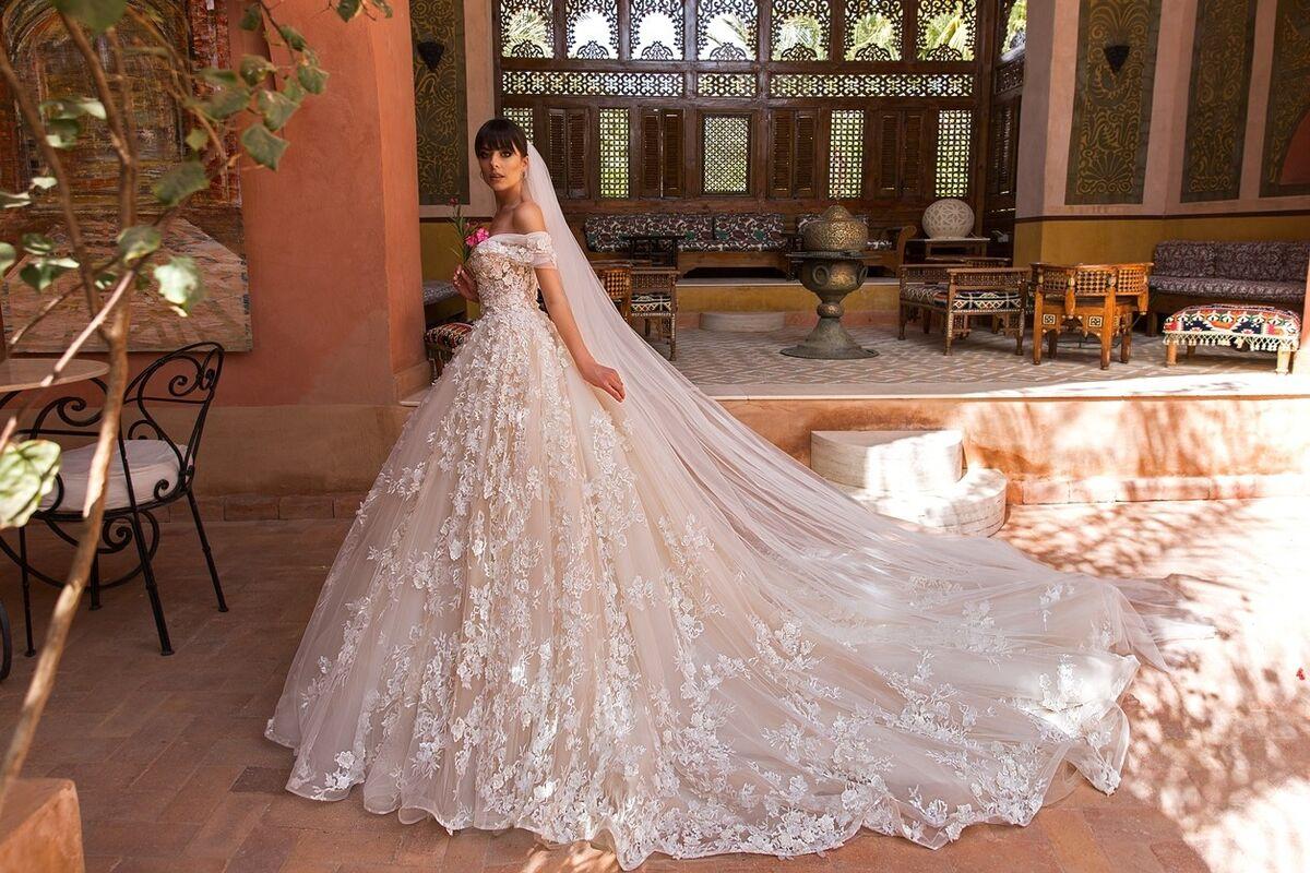 Свадебное платье напрокат Crystal Платье свадебное Magenta - фото 3