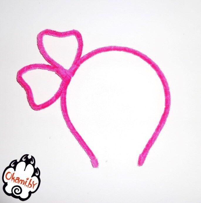 Подарок Оками «Бантик» розовый - фото 1