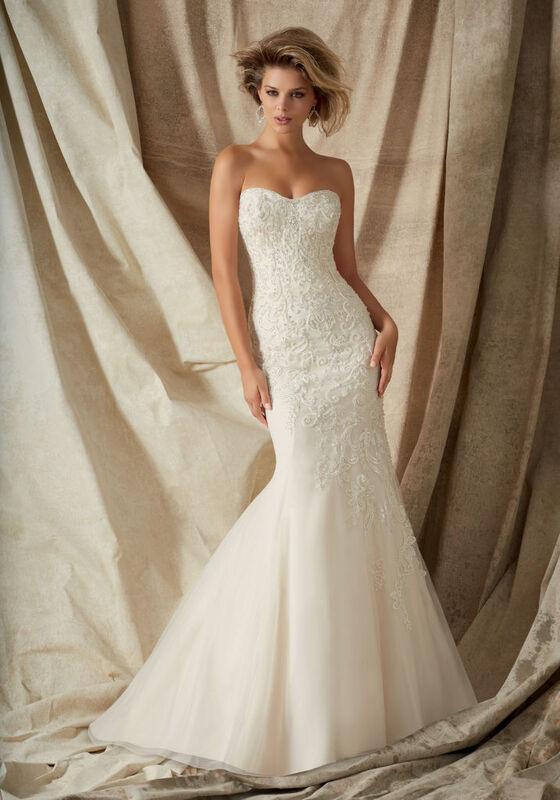 Свадебное платье напрокат Mori Lee Свадебное платье 1322 - фото 1