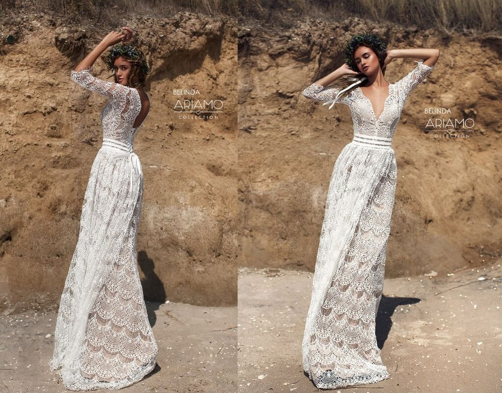 Свадебное платье напрокат Ariamo Bridal Платье свадебное Belinda - фото 2