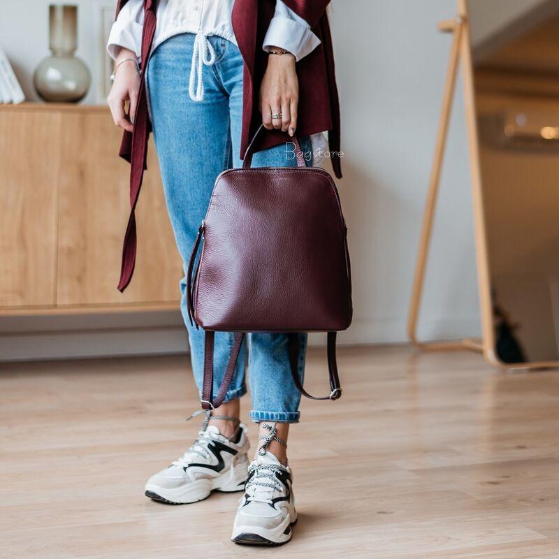 Магазин сумок Vezze Кожаный женский рюкзак C00546 - фото 2