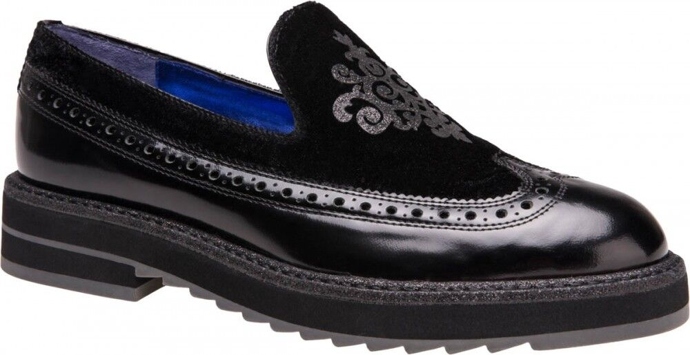 Обувь женская Alla Pugachova Туфли женские 1777-02 black - фото 1