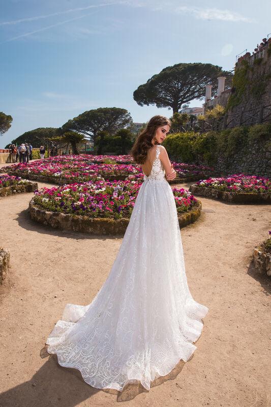 Свадебный салон Bonjour Galerie Платье свадебное TAYANA из коллекции NEW COLLECTION - фото 3