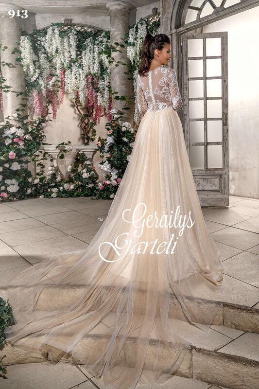 Свадебный салон Garteli Свадебное платье 913 - фото 2