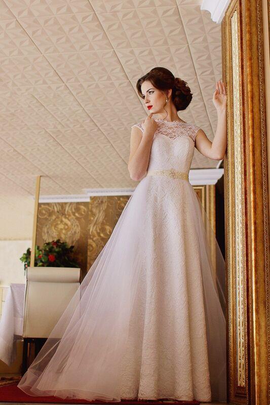 Свадебное платье напрокат ALIZA Платье свадебное «Adel» Diva Vivien - фото 1