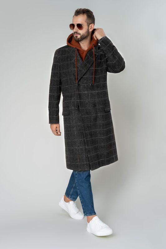 Верхняя одежда мужская Etelier Пальто мужское демисезонное 1М-101701-1 - фото 1
