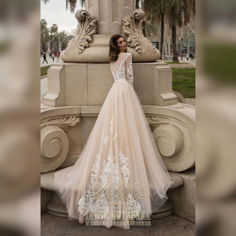 Свадебное платье напрокат Lavender Свадебное платье Victoriya - фото 2