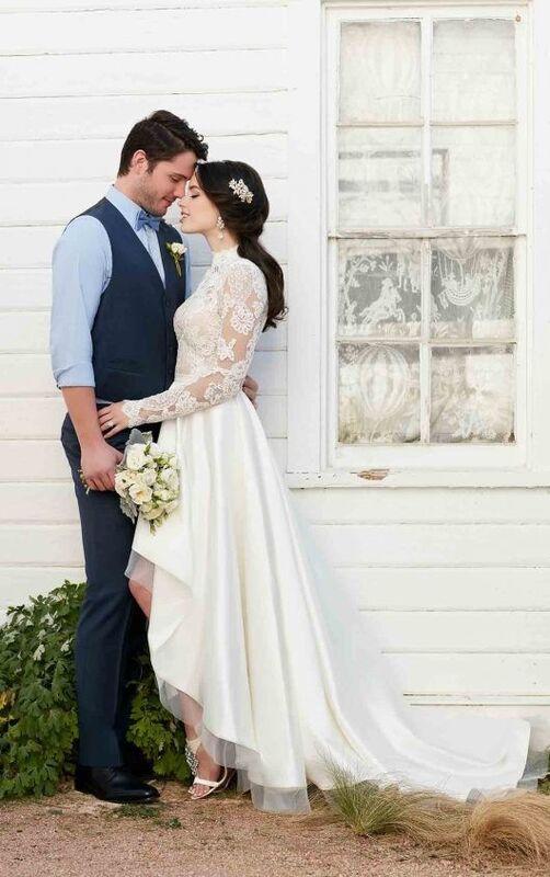 Свадебное платье напрокат Essense of Australia Платье свадебное Jude - фото 1