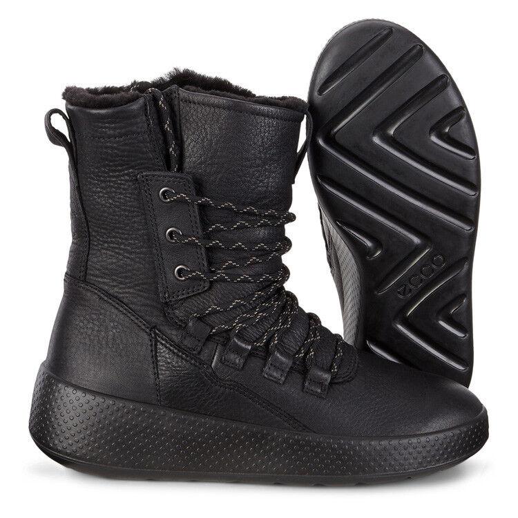 Обувь женская ECCO Ботинки высокие UKIUK 221053/02001 - фото 8