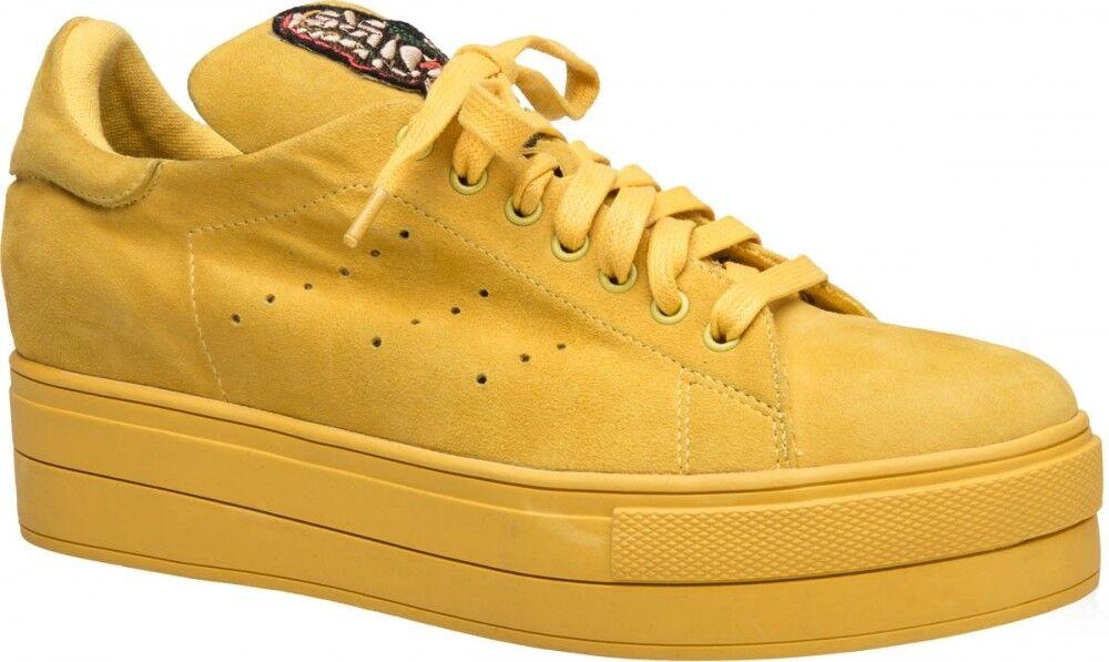Обувь женская Ekonika Полуботинки женские 1489-01 yellow - фото 1