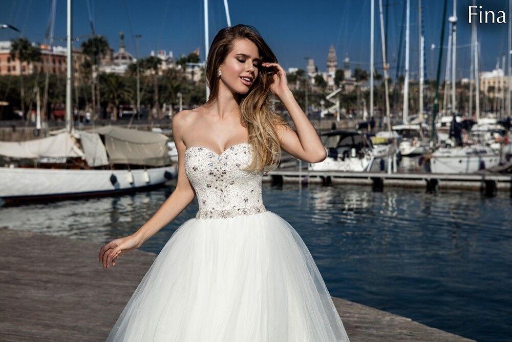 Свадебный салон Bonjour Galerie Свадебное платье «Fina» из коллекции LA POESIE - фото 2