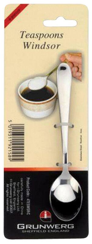 Подарок Grunwerg Набор чайных ложек «Windsor», 4 шт, 4TESWSR/C - фото 1