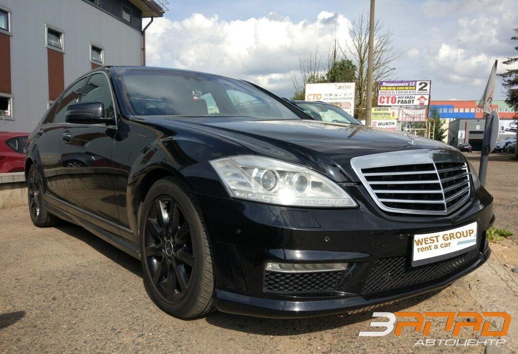 Прокат авто Mercedes-Benz S-класс W221 AMG - фото 1