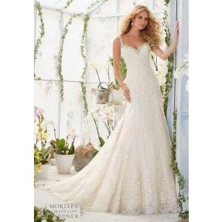 Свадебное платье напрокат Mori Lee Платье свадебное 2822 - фото 1