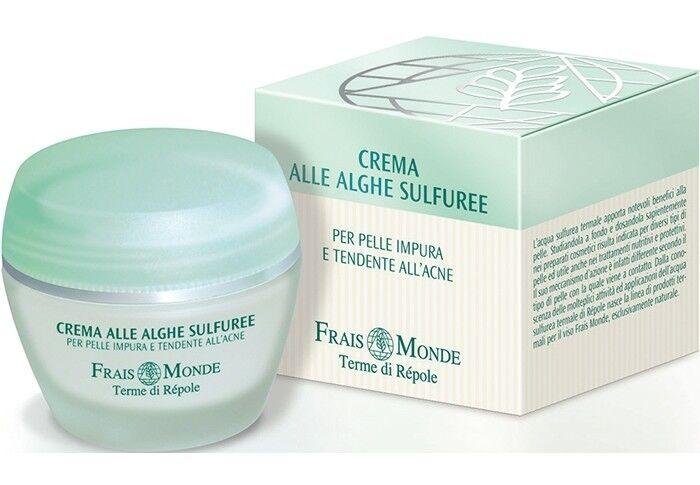 Уход за лицом Frais Monde Сернистый крем с морскими водорослями для проблемной кожи Sulphorous algae cream - фото 1