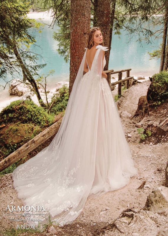 Свадебный салон Armonia Свадебное платье Anda - фото 3