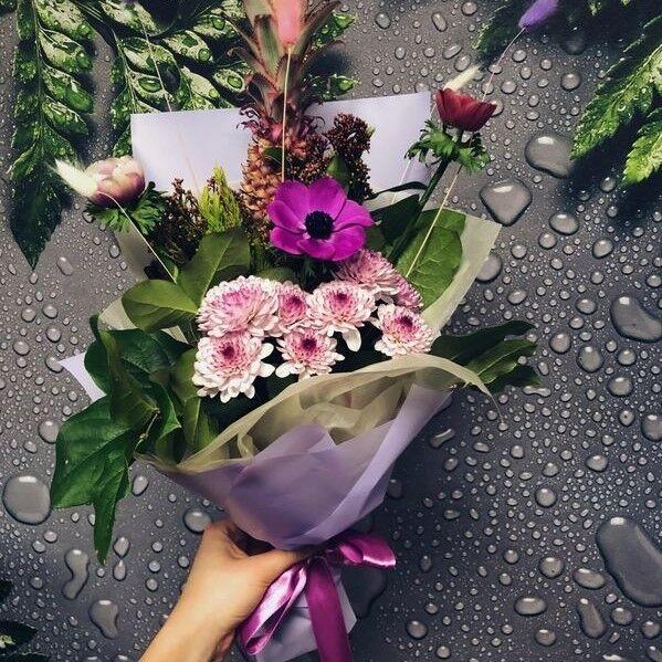 Магазин цветов Кошык кветак Букет экзотический №1 - фото 1
