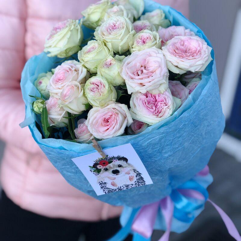 Магазин цветов Кошык кветак Букет классический №10 - фото 1