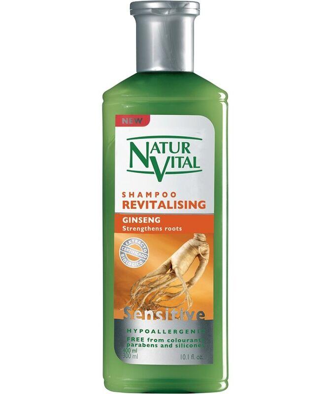 Уход за волосами Natur Vital Шампунь для волос восстанавливающий Женьшень Hair Shampoo Ginseng - Revitalising - фото 1