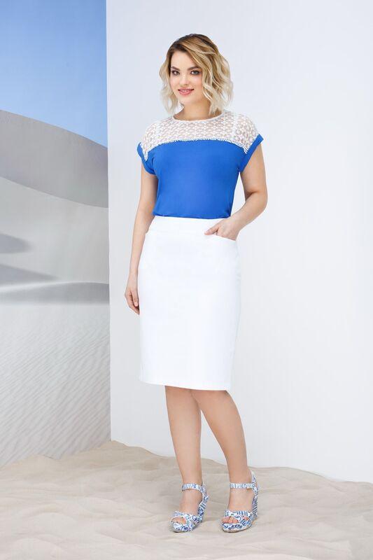 Кофта, блузка, футболка женская Elema Блузка женская Т-7444 - фото 1