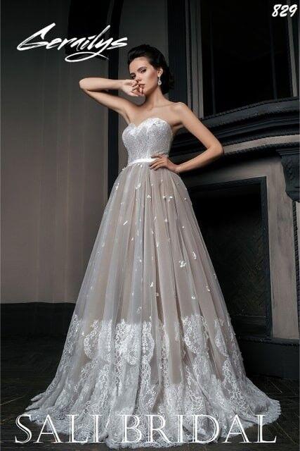 Свадебный салон Sali Bridal Свадебное платье 829 - фото 1