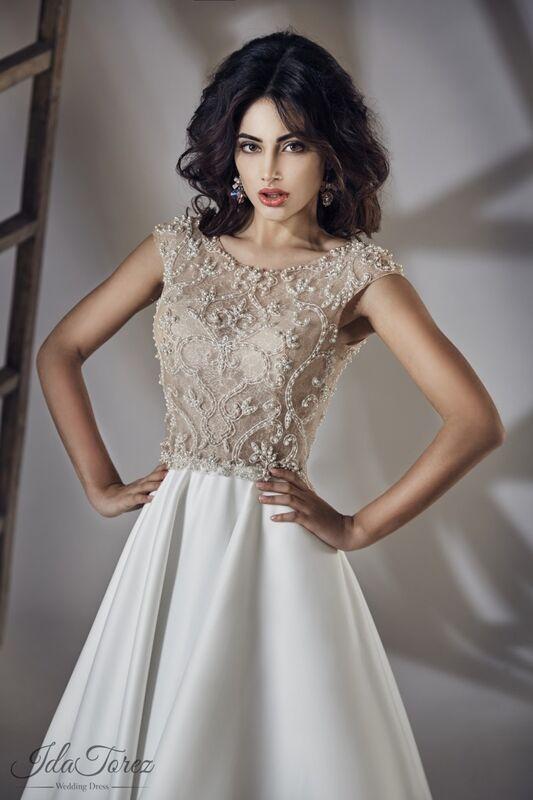 Свадебное платье напрокат Ida Torez Свадебное платье Torsa - фото 3