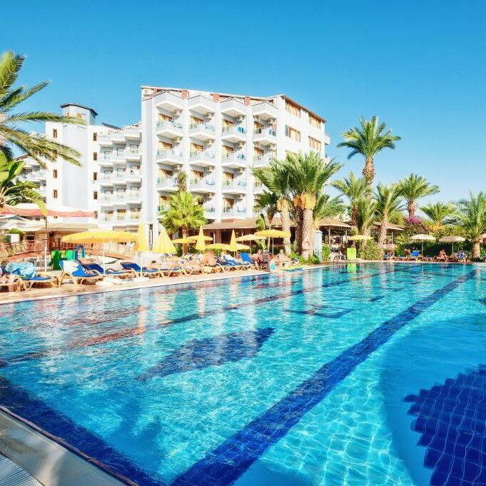 Туристическое агентство Клеопатра-тур Пляжный тур в Турцию, Аланья, Caretta Beach Club Hotel 4* - фото 1