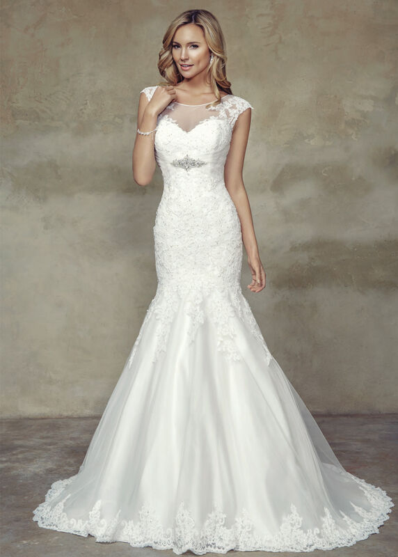 Свадебное платье напрокат Mia Solano Платье свадебное «Brooke» - фото 1