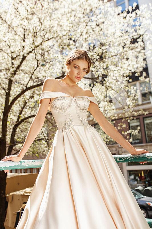 Свадебное платье напрокат Eva Lendel Vogue - фото 2
