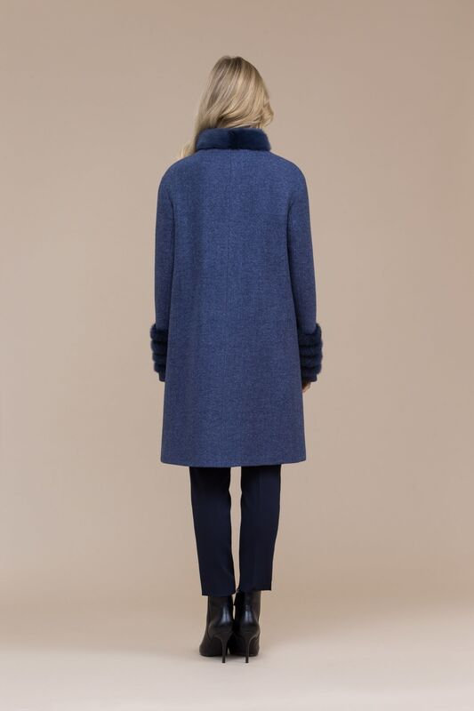 Верхняя одежда женская Elema Пальто женское зимнее 7-8122-1 - фото 2