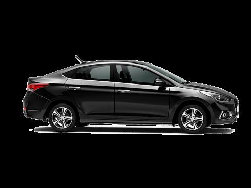 Прокат авто Hyundai Solaris черный 2018 - фото 2