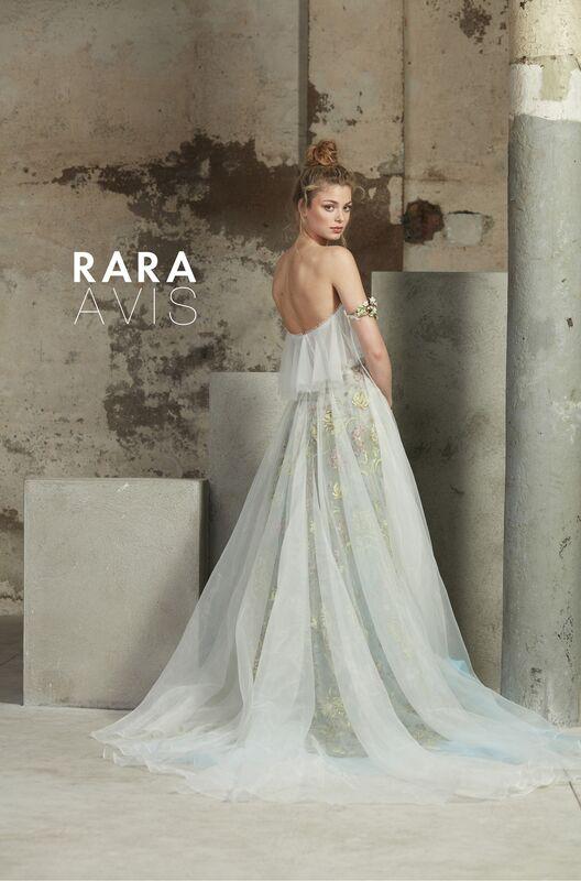 Свадебное платье напрокат Rara Avis Платье свадебное Floral Paradise  Ilan - фото 3