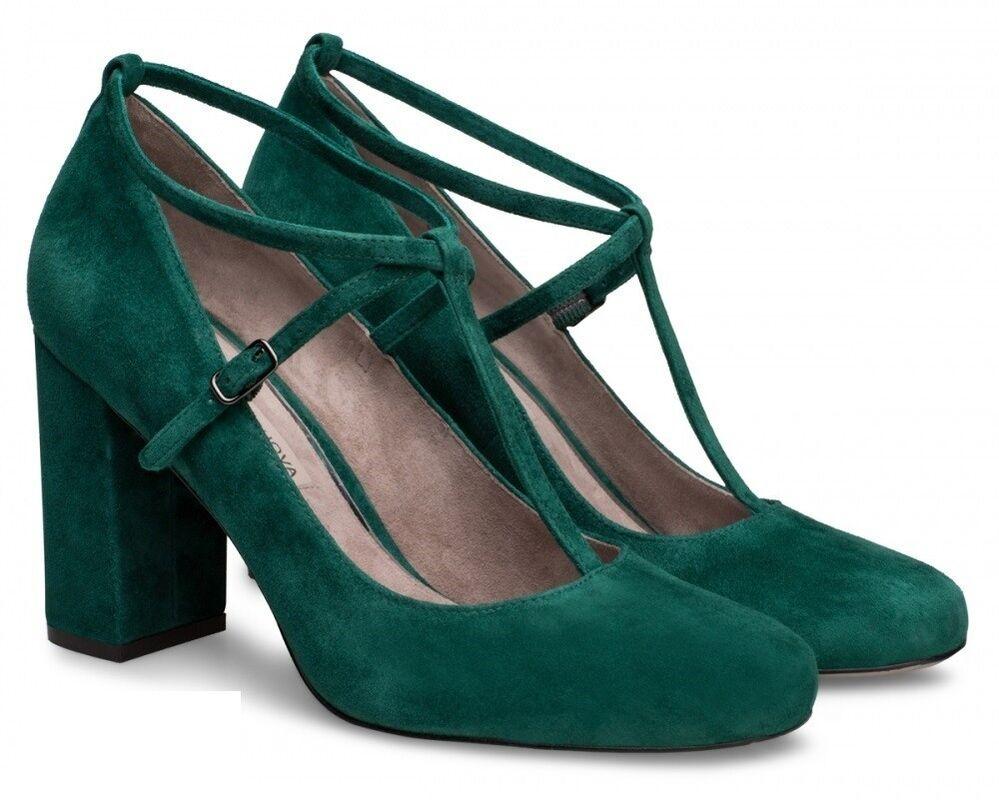 Обувь женская Alla Pugachova Туфли женские AP1990-06 alpine green - фото 1