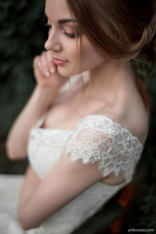 Свадебное платье напрокат Артемида Кружевное платье Ann - фото 4