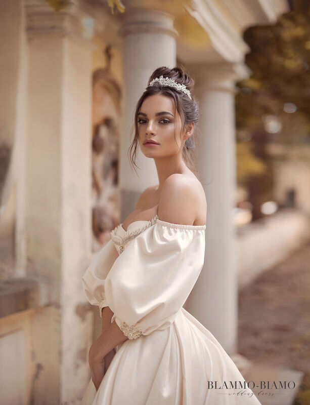 Свадебный салон Blammo-Biamo Свадебное платье The Rice  Medea - фото 5