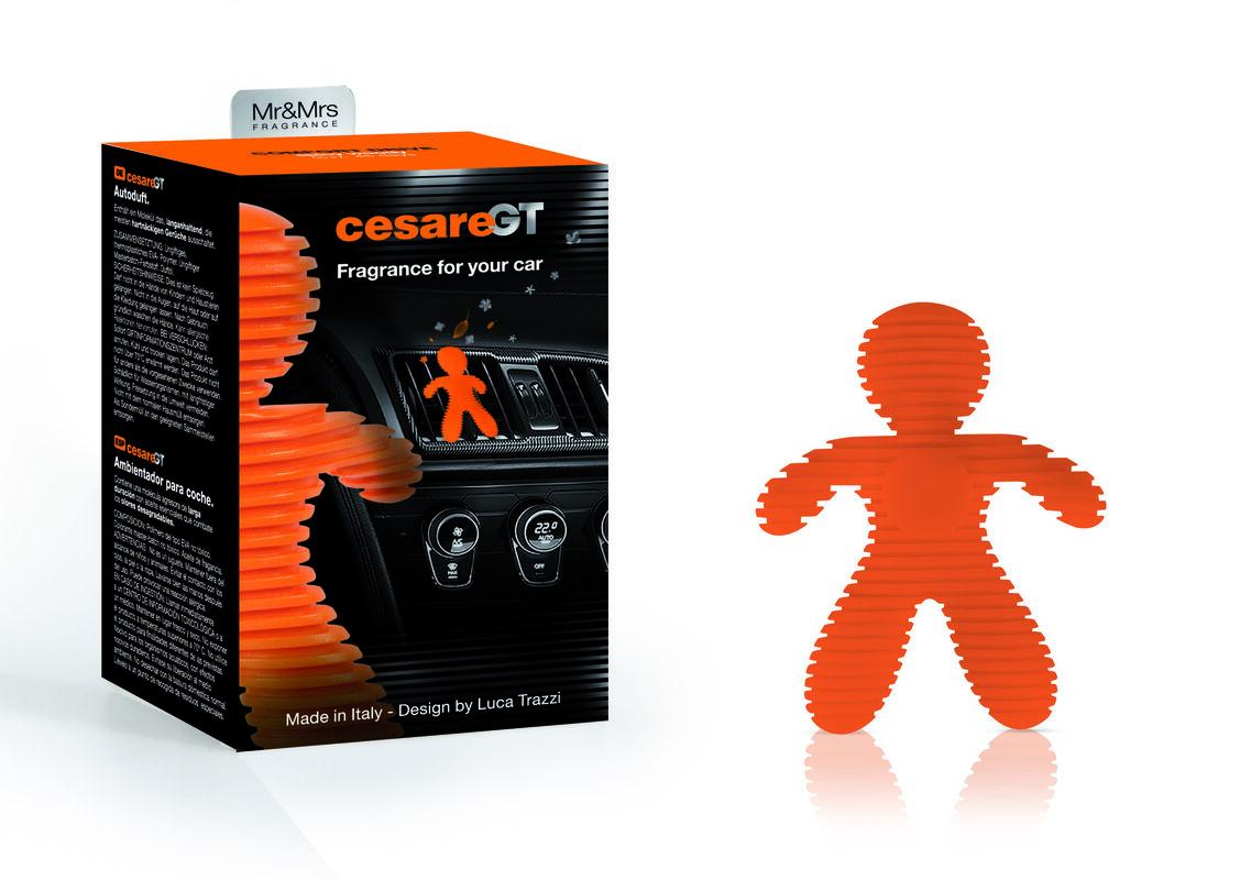 Подарок на Новый год Mr & Mrs Fragrance Ароматизатор воздуха для авто Cesare GT - фото 4