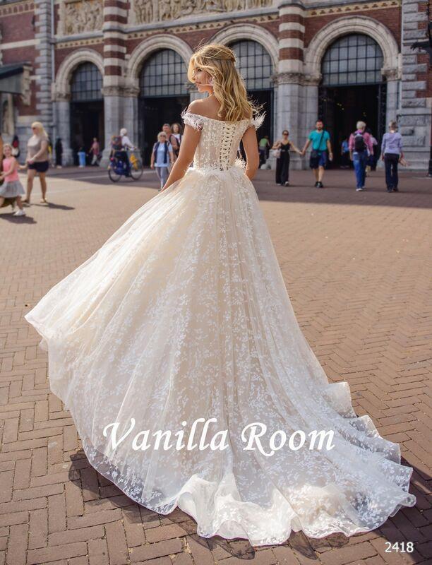 Свадебное платье напрокат Vanilla room Платье свадебное Люсиль - фото 3