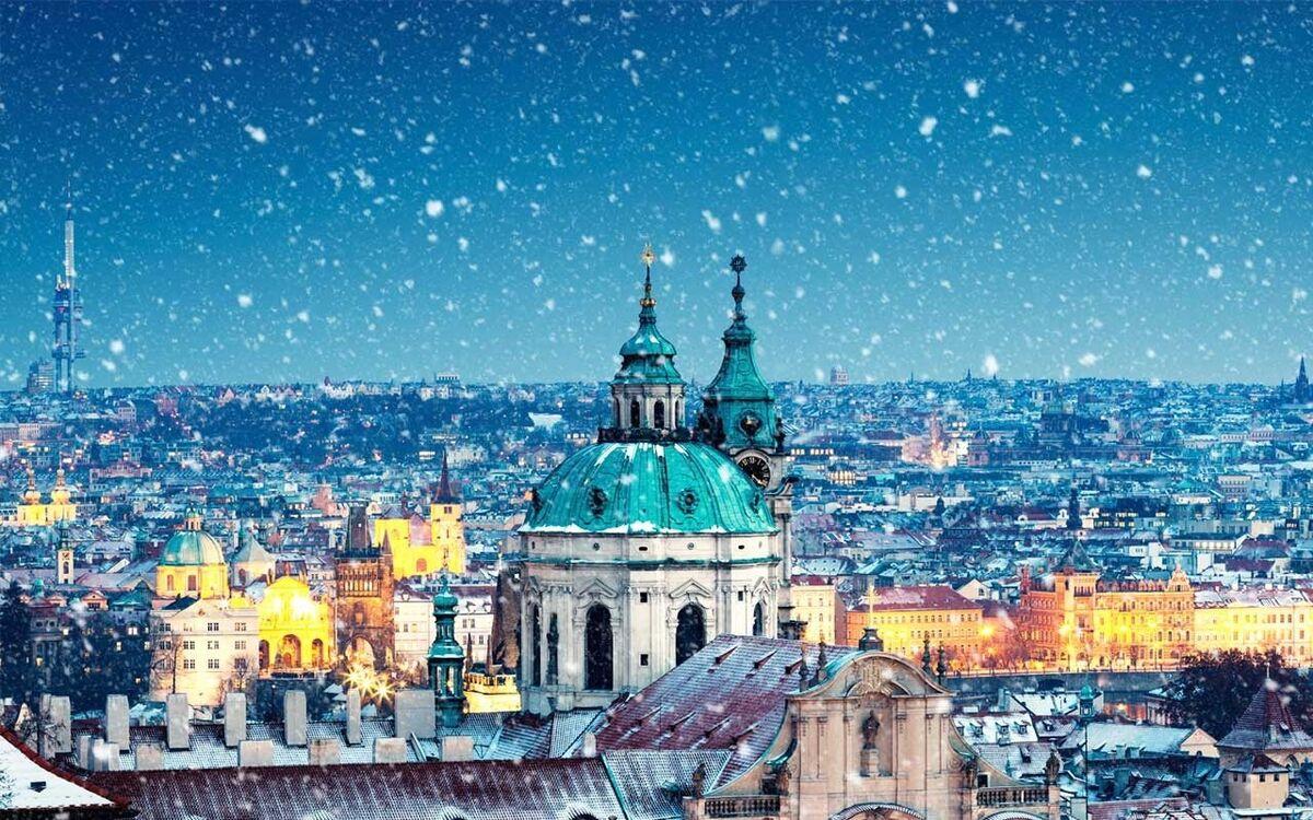 Туристическое агентство Элдиви Автобусный тур «Рождественский дуэт: Вена – Прага» - фото 1