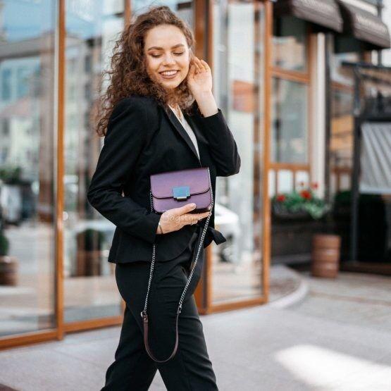 Магазин сумок Vezze Кожаная женская сумка C00529 - фото 3