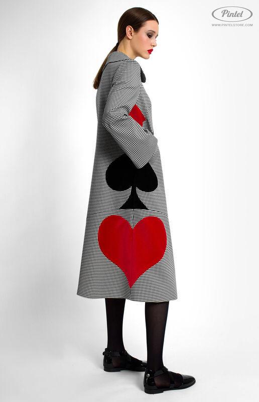 Верхняя одежда женская Pintel™ Однобортное пальто Samióna - фото 3