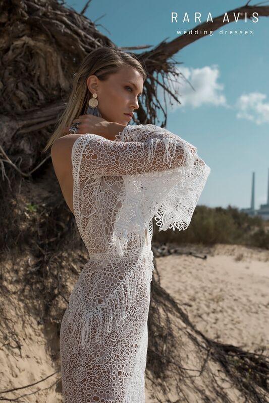 Свадебное платье напрокат Rara Avis Свадебное платье Wild Soul Luchian - фото 3
